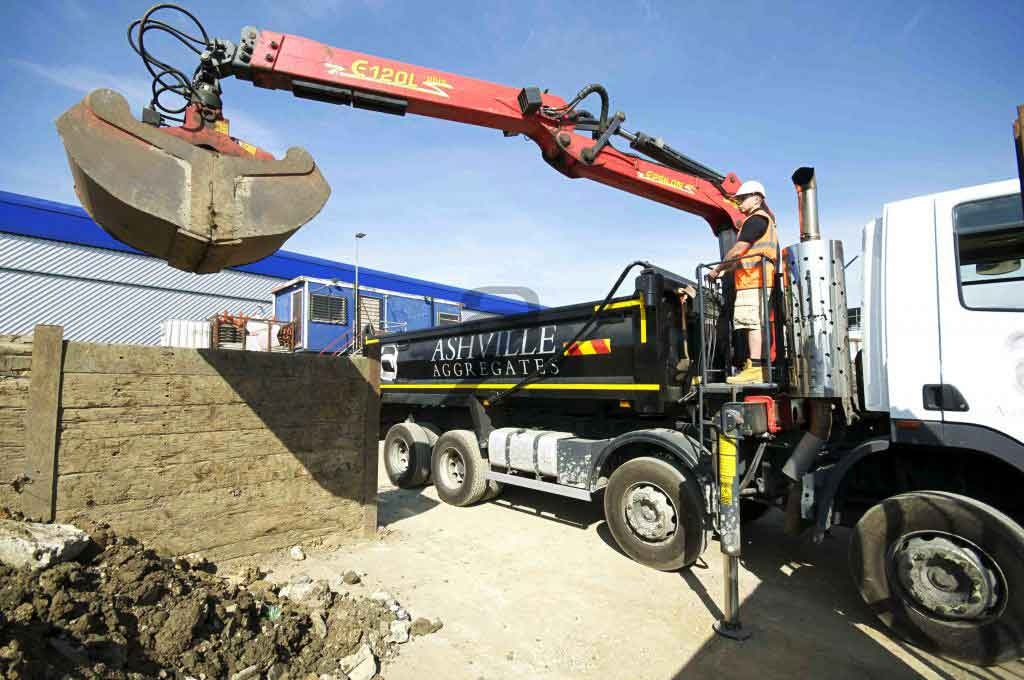 Grab Hire London |  Rise in Aggregates Sales