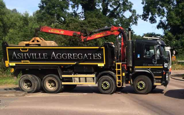 Grab Hire Welwyn | Ashville Aggregates