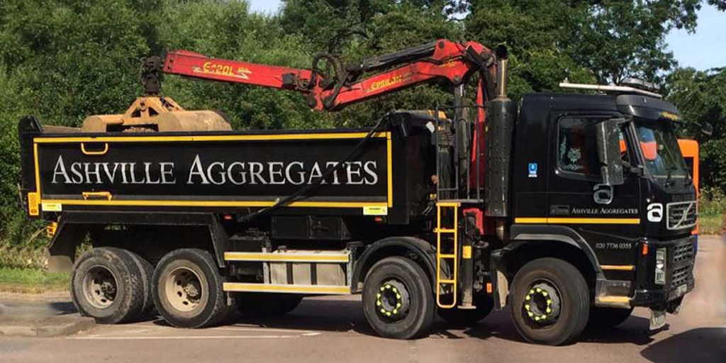 Grab Hire Kingston upon Thames | Ashville Aggregates