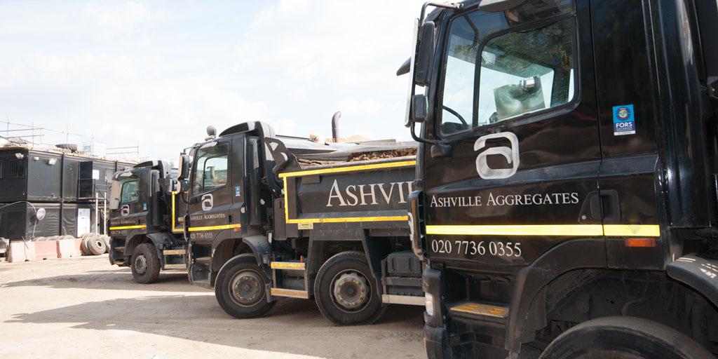 Muck Away Fleet Street | Ashville Aggregates