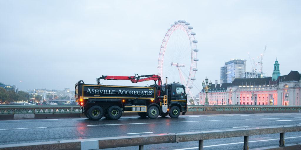 Muck Away Oxford Circus | Ashville Aggregates
