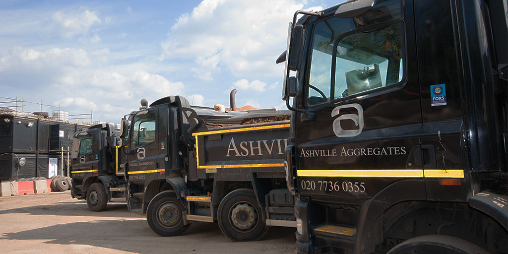 Tipper Hire Pinner | Ashville Aggregates