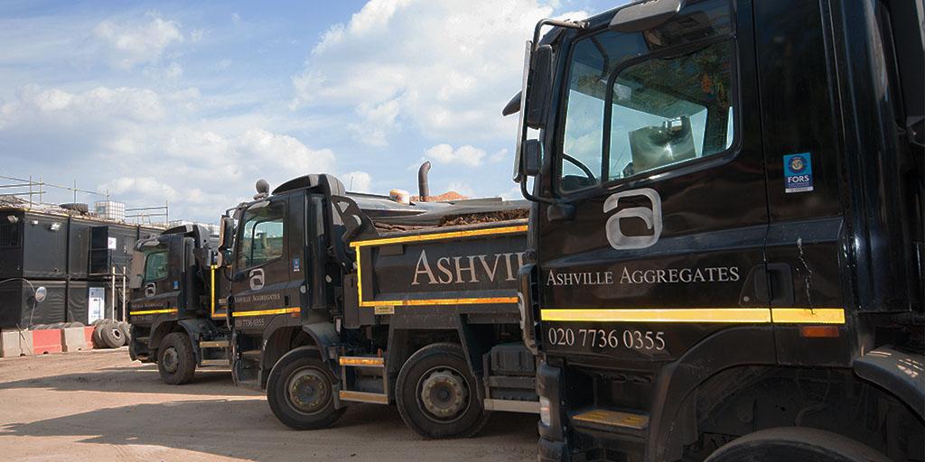 Tipper Hire Virginia Water | Ashville Aggregates