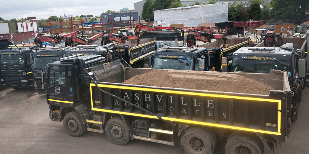 Tipper Hire Park Royal | Ashville Aggregates